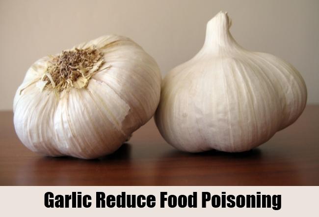 Garlic Reduce Food Poisoning