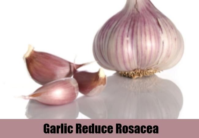 Garlic Reduce Rosacea