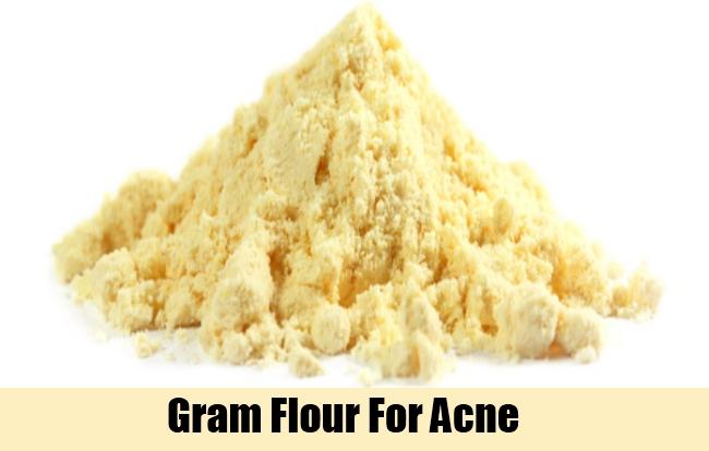 Gram Flour For Acne