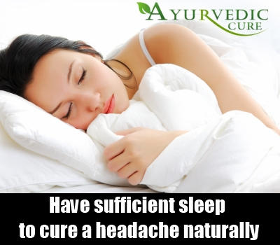 Have Sufficient Sleep