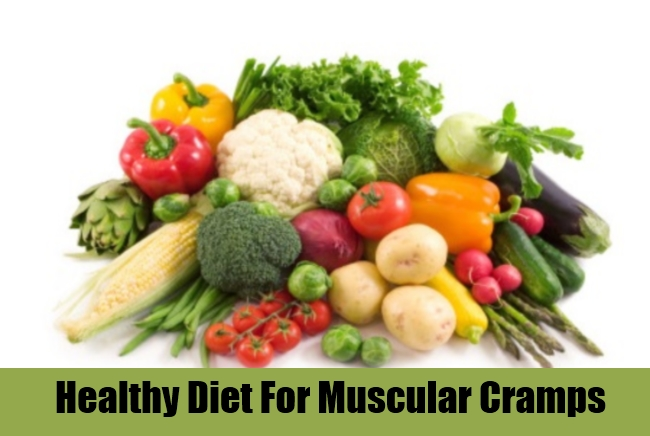Healthy Diet For Muscular Cramps