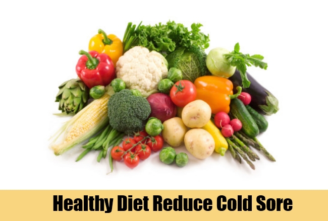 Healthy Diet Reduce Cold Sore