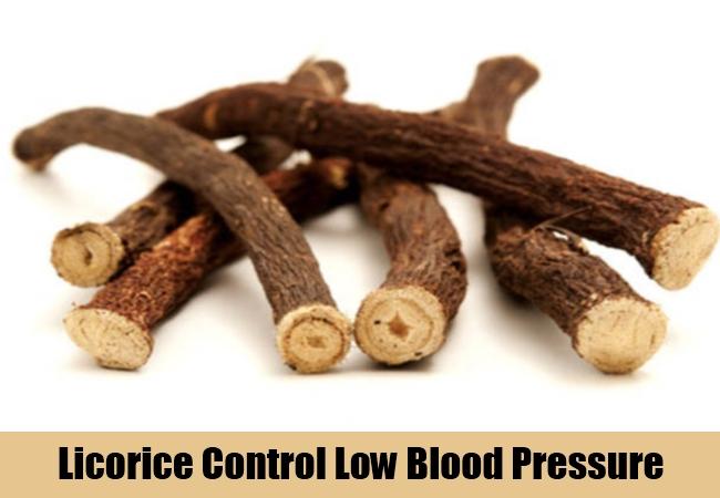 Licorice Control Low Blood Pressure