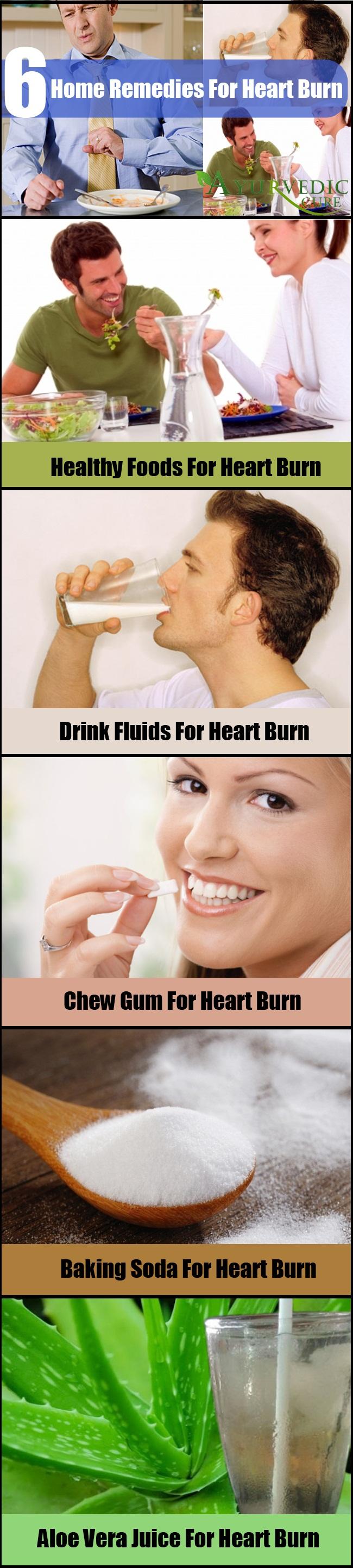 Remedies For Heart Burn