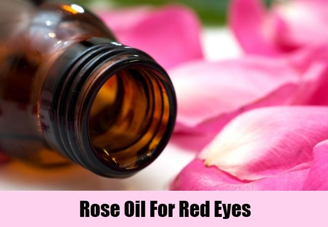 Rose Oil For Red Eyes