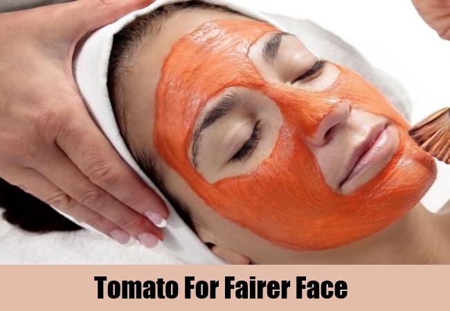Tomato For Fairer Face