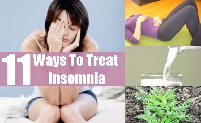 Ways To Treat Insomnia