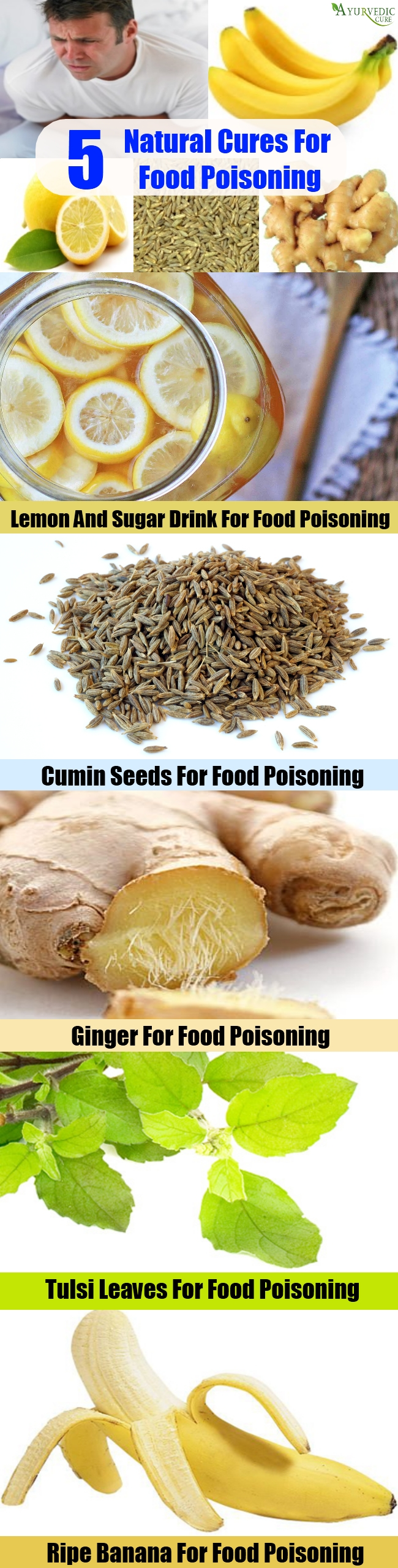 5 Natural Cures For Food Poisoning