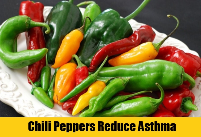 Chili Peppers Reduce Asthma