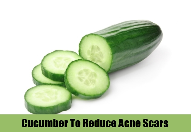 Cucumber To Reduce Acne Scars