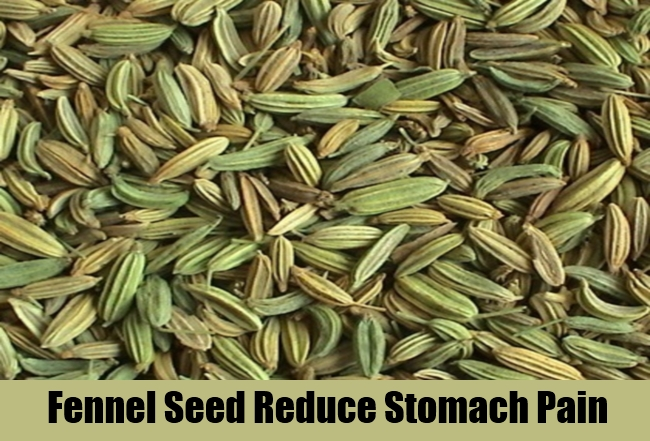 Fennel Seed Reduce Stomach Pain