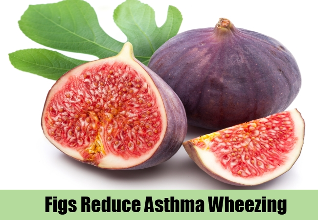 Figs Reduce Asthma Wheezing