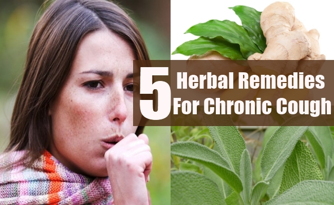 Herbal Remedies For Chronic Cough