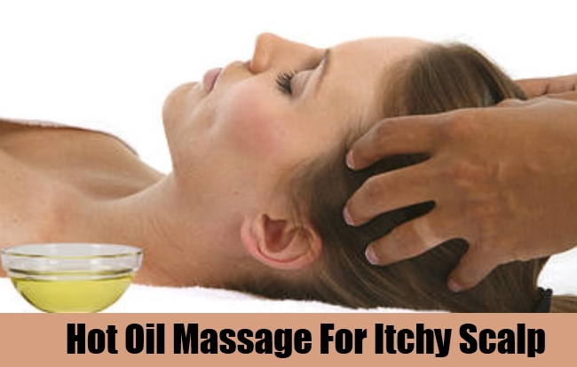 Hot Oil Massage For Itchy Scalp