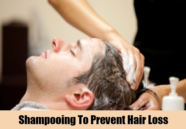 Shampooing To Prevent Hair Loss