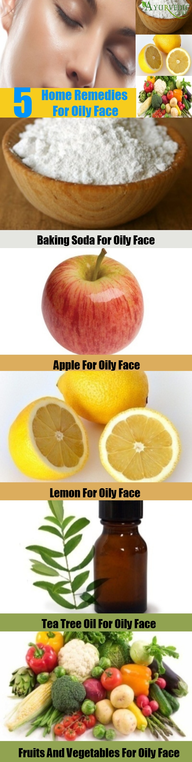Top 5 Home Remedies For Oily Face