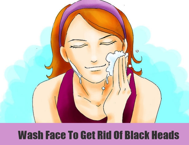 Wash Face To Get Rid Of Black Heads