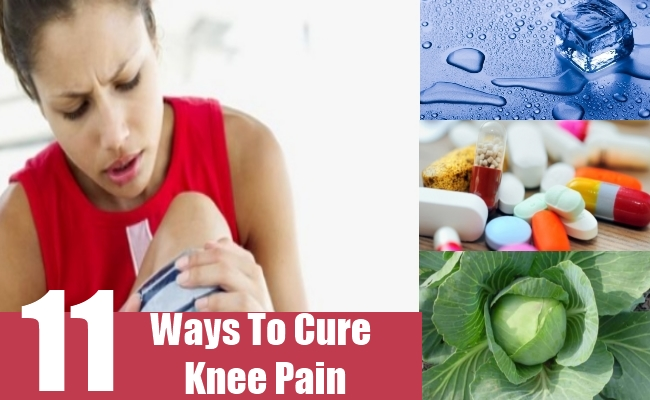 Ways To Cure Knee Pain