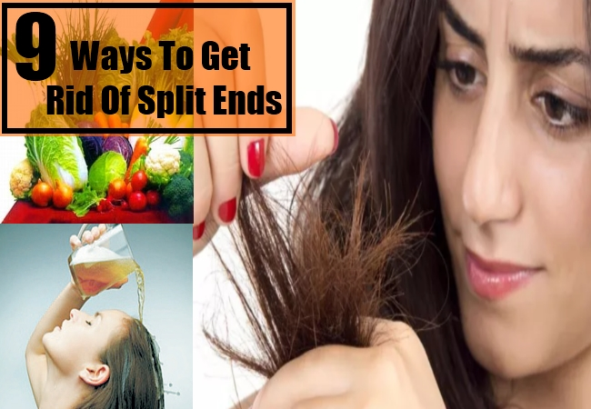 Ways To Get Rid Of Split Ends