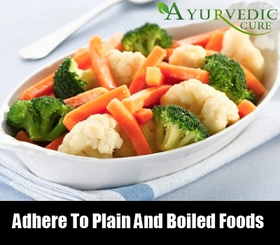 Adhere To Plain And Boiled Foods