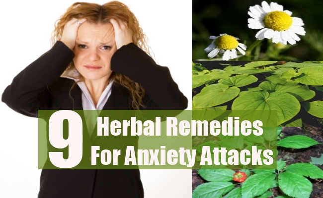 Herbal Remedies For Anxiety Attacks