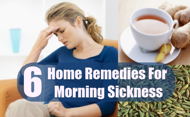 Home Remedies ForMorning Sickness