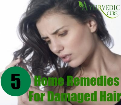 5 Home Remedies For Damaged Hair