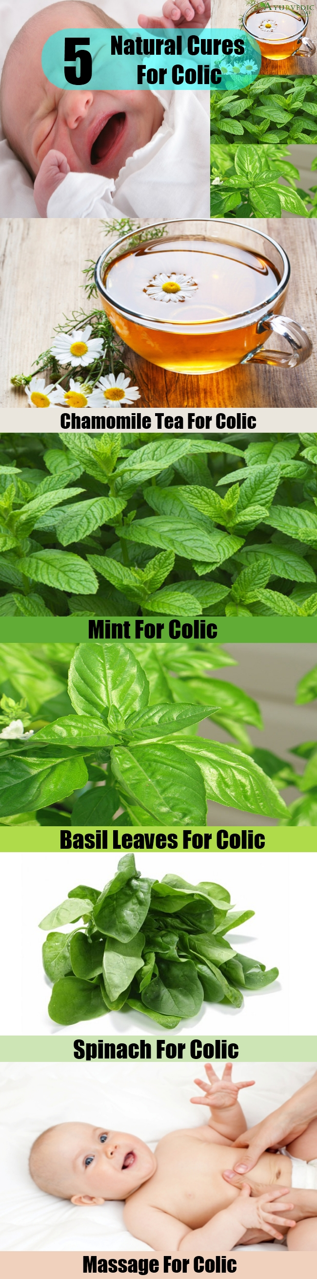 5 Simple Natural Cures For Colic