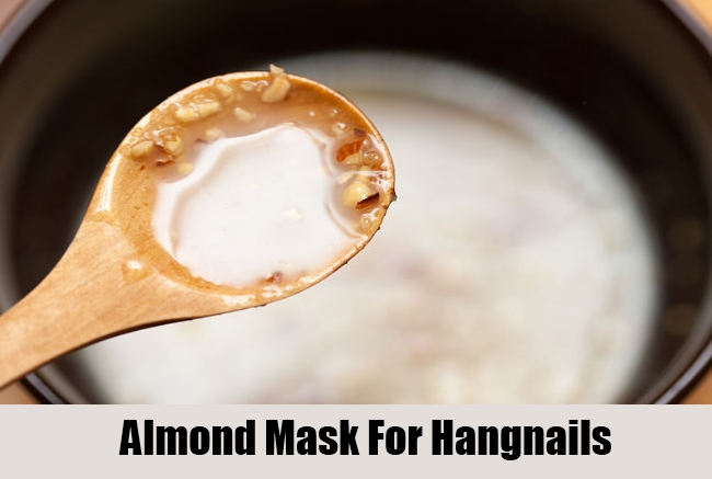 Almond Mask For Hangnails