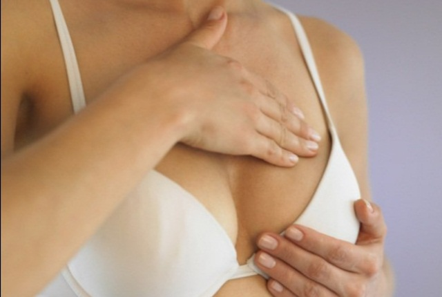 Knead One Of Your Breasts Lightly