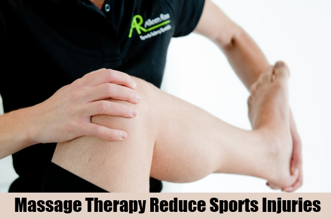 Massage Therapy Reduce Sports Injuries