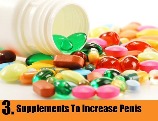 Supplements To Increase Penis