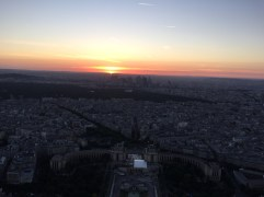 Sunset View of city