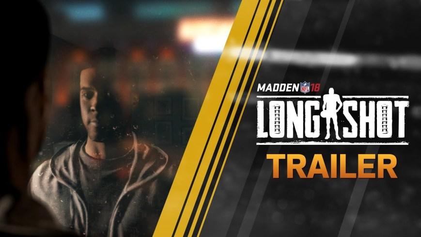 Madden 18 (Longshot Story Mode Reveal Trailer)