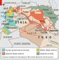 карта контроля территорий в сирии