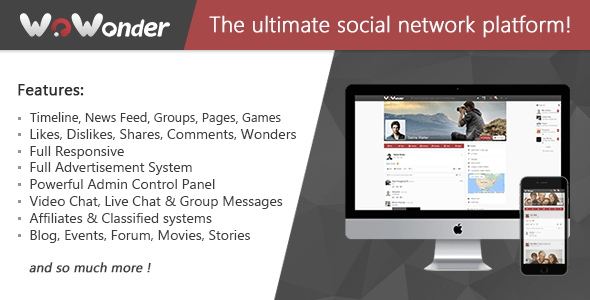 WoWonder – The Ultimate PHP Social Network Platform