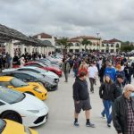 Electric Cars Invade Supercar Row at South OC Cars and Coffee