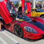 Rent a Supercar at South OC Cars and Coffee