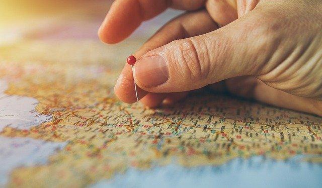 Poser son objectif sur une carte