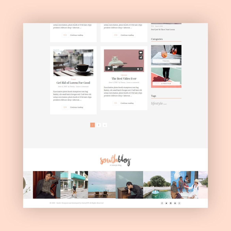 SouthBlog - Minimal and Modern Blog WordPress Theme-3