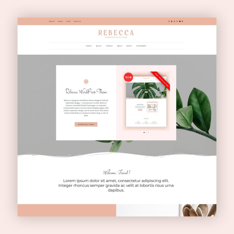 Rebecca - WordPress Blog and Shop Theme-1