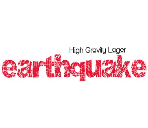 EARTHQUAKE HIGH GRAVITY LAGER