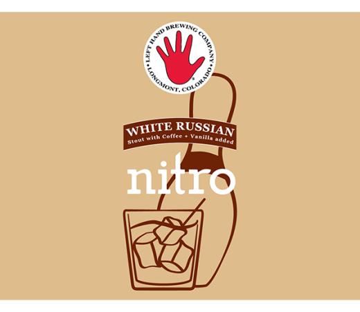 LEFT HAND WHITE RUSSIAN WHITE STOUT NITRO