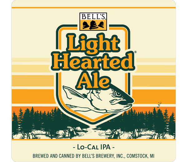 BELL'S LIGHT HEARTED LO-CAL IPA
