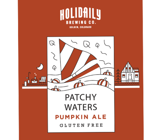 HOLIDAILY PATCHY WATERS PUMPKIN ALE (S)