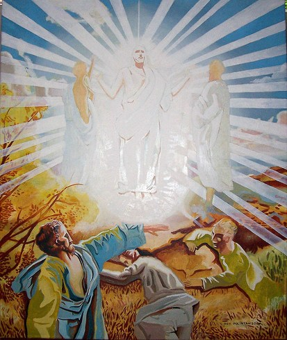 "Transfiguration of Christ"" Jason Polintan - Artwork on USEUM"