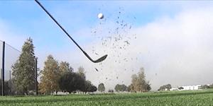 La mesure de la synchronisation de l'oscillation de golf de la vidéo