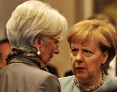 German Chancellor Merkel said considering joint EU bonds