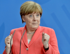 Merkel says that German economy is in a difficult phase with slower growth