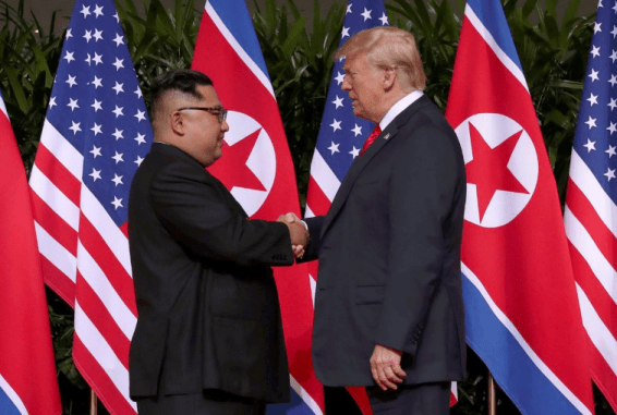 Kim Jong Un Trump friends